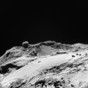 Surface of comet 67p